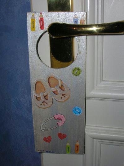 Plaque de porte b b et enfant cr ation chambre d 39 enfant de ironmaiden1170 n 7 909 vue - Plaque de porte chambre enfant ...