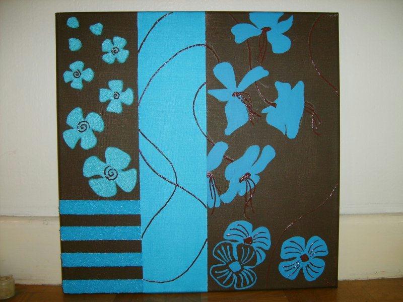 chocolat et turquoise cr ations home d co et miroir de emie65 n 8160 vue 40866 fois. Black Bedroom Furniture Sets. Home Design Ideas