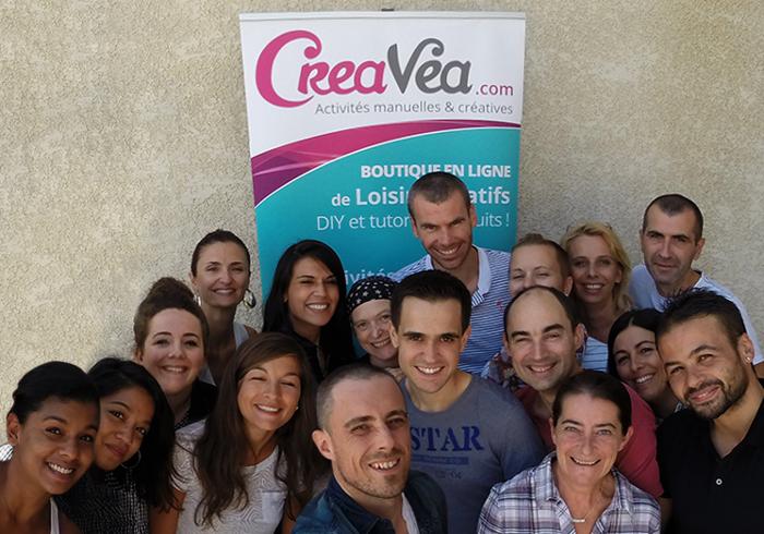 L'équipe Creavea