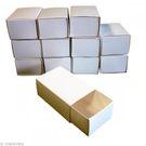 Boîte d'allumettes vide à décorer