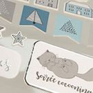 Stickers fantaisie
